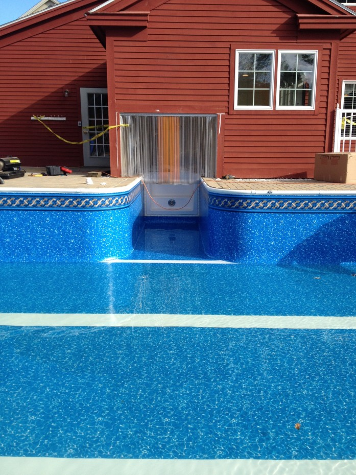 vinyl pool liner Virgin